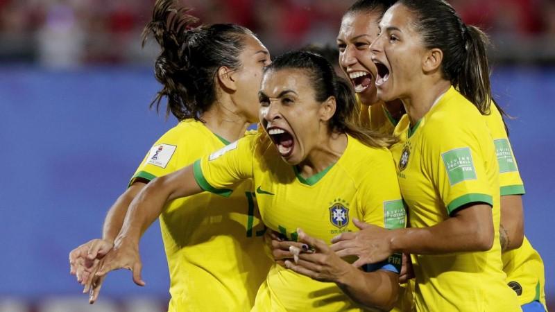 футболистка Марта Виейра да Силва