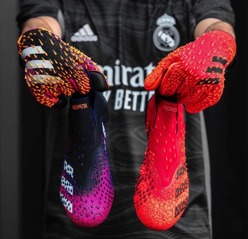 бутсы и перчатки Predator Freak